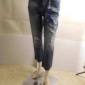 5678....YMI High Rise Ankle Straight Leg Size 5/27